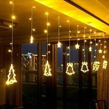 LED String Christmas Lights Xmas Tree Bells Fairy Lighting Decorations For Home