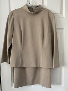 Ann Taylor Factory Suit (2 Piece) Skirt And Top