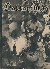 Finland Wartime Magazine Hakkapeliitta 1943 #10 - WWII - Hungarian Honved