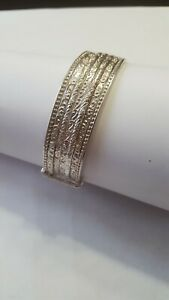 Bracelets Semainier JONC Argent Massif 925