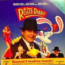 Who Framed Roger Rabbit - Stereo CAV  Laserdisc  Buy 6 For Free Shipping