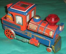 Vintage Tin Toy Modern Toy TRAIN 3463 TOY - TOWN Japan Battery operated