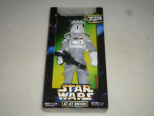 """NEW IN BOX STAR WARS AT-AT DRIVER 12"""" FIGURE HASBRO 1997 FIRING IMPERIAL BLASTER"""