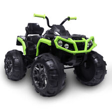 12V Kids Ride On ATV Car Electric Toy 4 Wheeler With LED Headlights Sounds