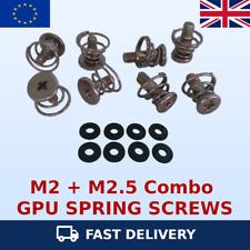 More details for graphics card gpu / vga heatsink spring screws m2 & m2.5 combo pack