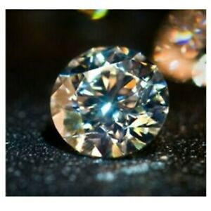 4.5mm Round Shape VVS Clarity G Color Brilliant White Natural  Diamond