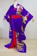 Kimono Dress Japan Furisode Hanayome Japanese costume Vintage dress KDJM-F0068