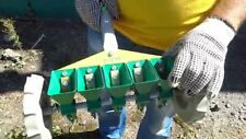 Hand mini Precision Garden Seeder with 5 Containers for 5 Rows