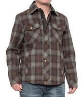 New $200 Pendleton Klamath Wool Plaid Shirt Jacket Size Medium NWT!