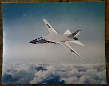 Vintage General Dynamics F-111 Aardvark US Navy Jet Concept Drawing Art Print