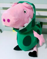 Peppa Pig George with T-Rex Outfit Plush Toy Dinosaur Toy 46cm Tall!