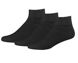 Big and Tall Available Grandeur Hosiery Mens Diabetic Crew Cotton Socks 3-Pair Seamless Toe Non-Binding Loose Top