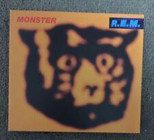 R.E.M. Monster CD + DVD Audio 5.1 Surround RARE REM