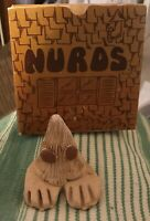 Vintage Nurds Novelty 70's Toy Rare Brown Eyes 1976 Pet Rock New From CA Ugly
