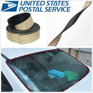 5M 20mm Sealed Strip Sealing Rubber Kit For Car SUV Windshield Triangular Window