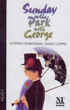 Sunday in the Park with George by James Lapine, Stephen Sondheim (Paperback,...