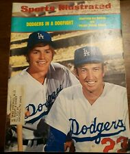 Sports Illustrated - Dodgers in a Dogfight - August 20, 1973 -(M18A)