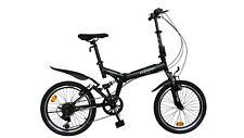 """Ecosmo 20 """"PIEGHEVOLE Mountain Bicicletta Bici 6sp shimano-20sf02bl"""