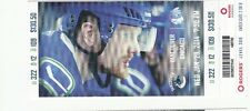 2014 VANCOUVER CANUCKS VS CHICAGO BLACKHAWKS TICKET STUB 1/29/14 SEDIN