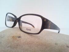 Fendi occhiale da vista donna  €229,00 con strass plastica ovale marrone elegant