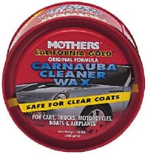Mothers California Gold Carnauba Cleaner Wax Paste 12oz