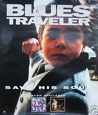BLUES TRAVELER POSTER, SAVE HIS SOUL (B7)