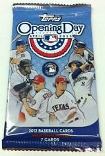 2013 Topps Opening Day Baseball 7-card Pack Box Fresh Factory Sealed