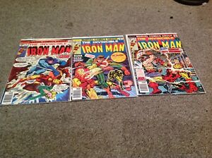 CLASSIC IRON MAN COMICS LOT! IN TIME FOR INFINITY WAR!!