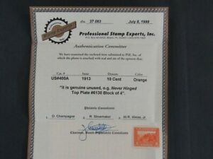 Nystamps US Stamp # 400A Mint OG NH $400 PSE Certificate j16yn