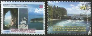 MACEDONIA NORTH 2020 TOURISM IN MACEDONIA PRESPA,STRUGA MNH
