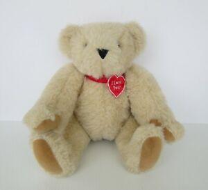 The Vermont Teddy Bear Company Stuffed Plush Teddy - I Love You