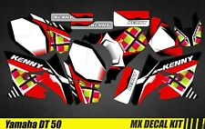 Kit Déco Moto / Mx Decal Kit Yamaha DT50 - Kenny