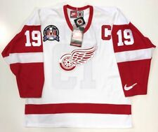 STEVE YZERMAN 1997 STANLEY CUP DETROIT RED WINGS NIKE JERSEY LARGE NEW W/TAGS