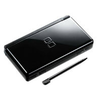 Nintendo DS Lite Console DSL Handheld Video Game System NDSL Black