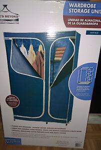 wardrobe storage unit. 43in W x 18in D x 63in H