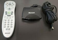 Microsoft Windows Media Center 1039 Remote Control and 1040 IR Receiver
