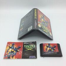 Ranger X - Sega - Megadrive - Mega Drive - PAL Version