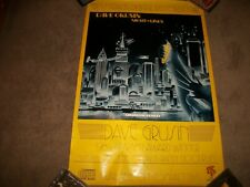 "Dave Grusin ""Night Lines"" Promo Poster 1984 - 24 X 36 NEVER DISPLAYED"