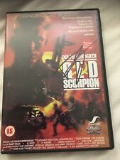 Red Scorpion Dvd Hand Signed By Dolph Lundgren Rare Item Rocky
