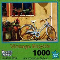 Puzzle Mate Landscape Series 1000 Piece Jigsaw Puzzle - Vintage Bicycle