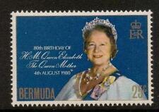 BERMUDA SG425 1980 QUEEN MOTHER  MNH