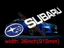 """36"""" Sun Strip Visor Windshield Sticker Decal for sti wrx impreza wrc brz outback"""