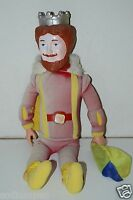 "Vintage 1980 21"" Magician Burger King Tall Plush Doll Stuffed Animal SUN FADED"