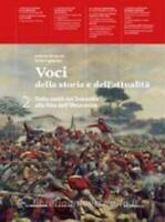 Voci della storia e dell'attualità vol.2 La Nuova Italia scuola cod9788822173515