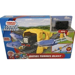 Fisher-Price Thomas & Friends Push Along Diesel Tunnel Blast Toy, 54 Inch Layout