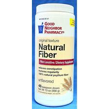 GNP Natural Fiber Laxative and Supplement Powder, Original 13 oz