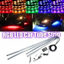 RGB LED Strip Car Chassis Underglow Underbody System Neon Light + Remote Control