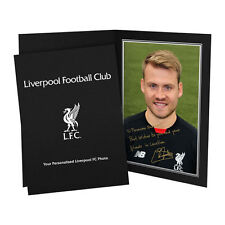 Liverpool Autographed Football Player Photographs