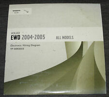 Electronic Wiring Diagram auf CD Volvo 2004 - 2005 Alle Modelle Schaltpläne!