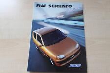 89042) Fiat Seicento - Hobby - Prospekt 01/1999
